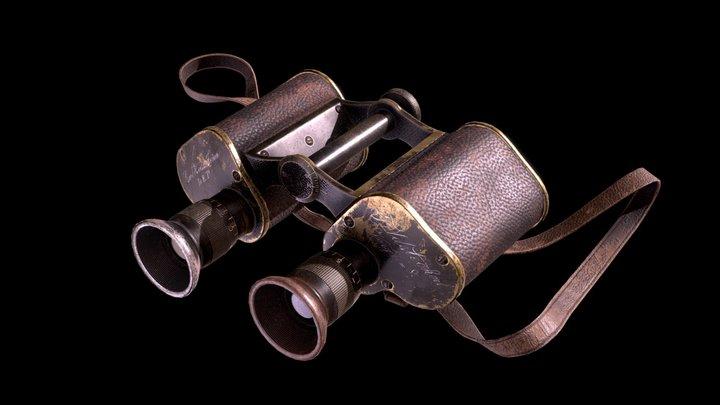 Feldstecher 3D Model