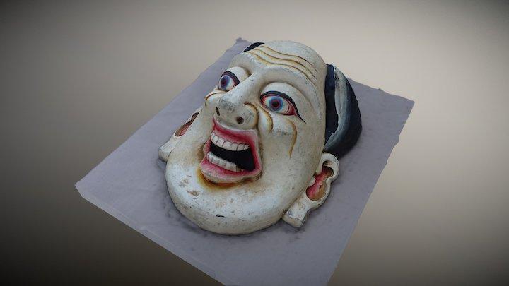 Indian Mask 3D Model