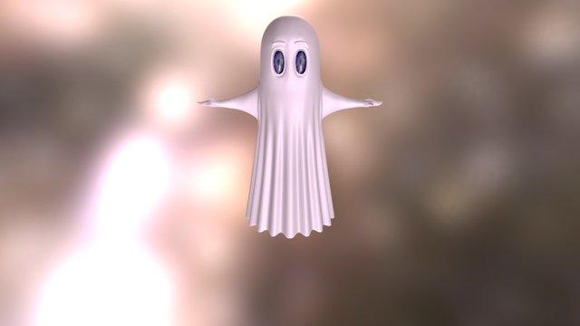 Harald - Harald, the Scatty Spook character 3D Model