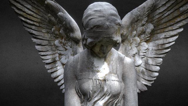 cemetery Angel - Miller 3D Model