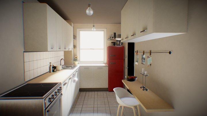 Kitchen test 3D Model