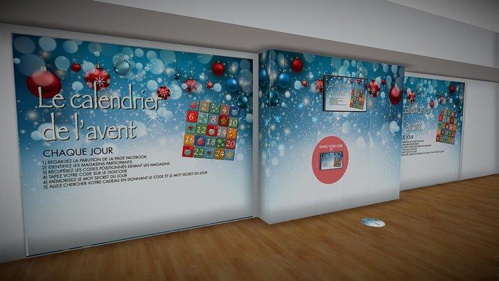 CALENDRIER AVENT 2019 3D Model