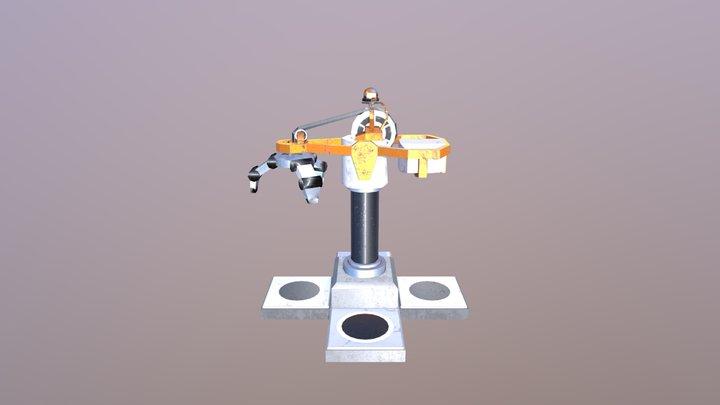 Game Asset Crane 3D Model