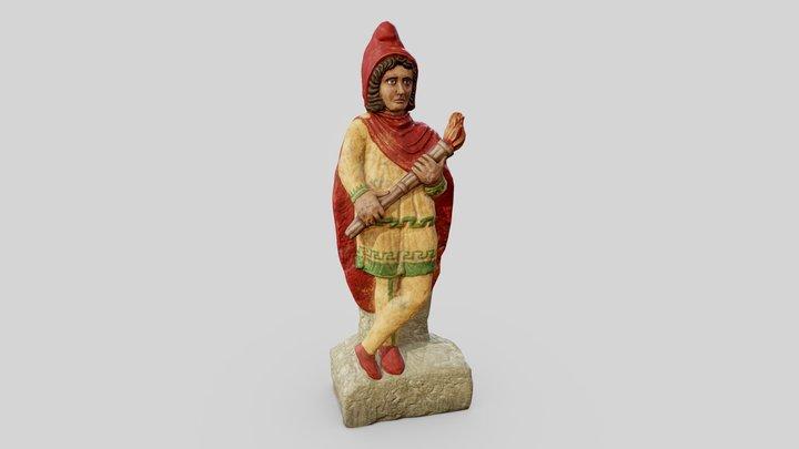 Cautes Statue 3D Model