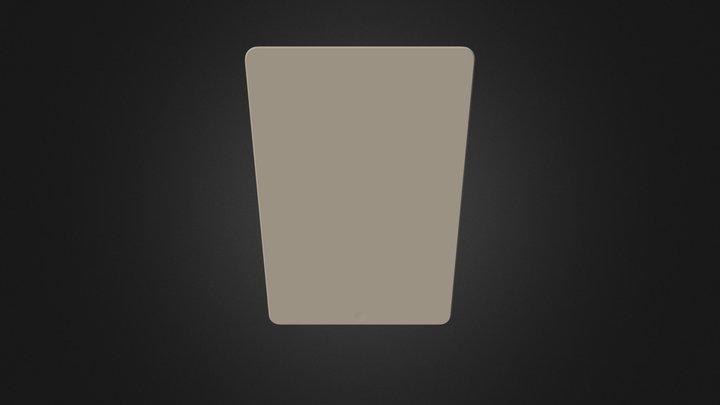Apple I Pad Air 2 Gold 3D Model