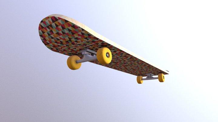 WorldSkills Skateboard 3D Model