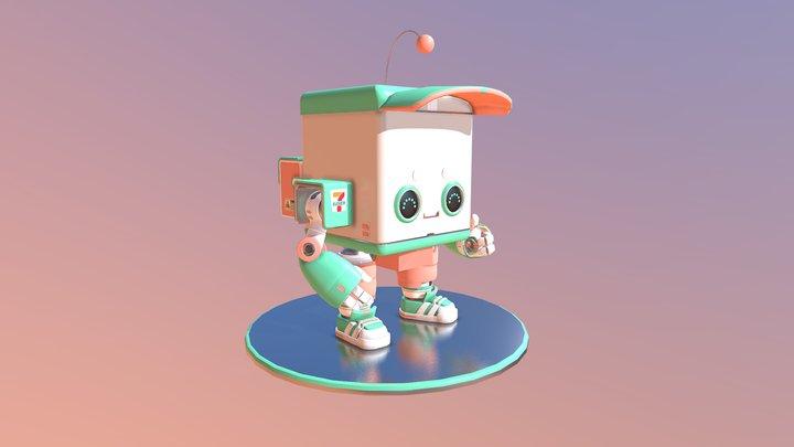 Beep Boop - #CuteRobotChallenge 3D Model
