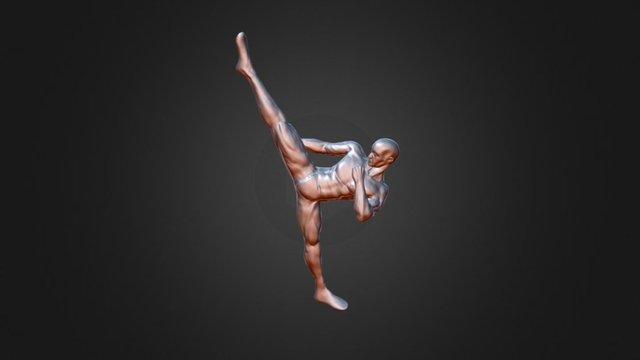 Body Pose 01 3D Model