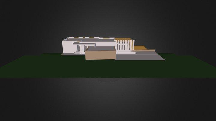 Villa Variante 2 3D Model