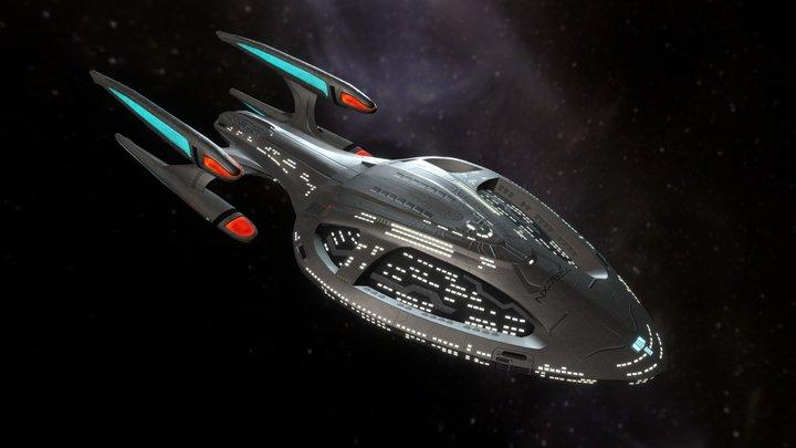 USS Theurgy NX-79854 3D Model