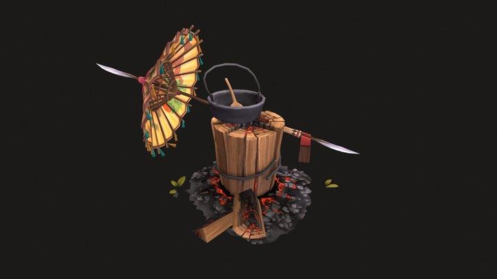 'Adventurers Inventory' 3D Model