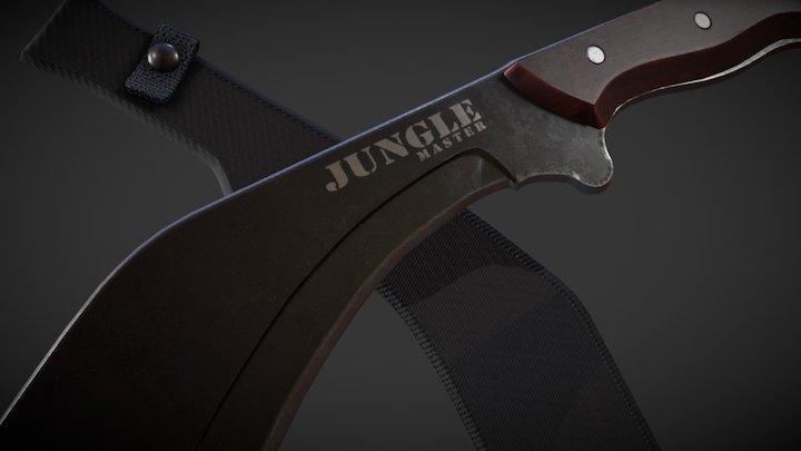 Jungle Master Kukri 3D Model
