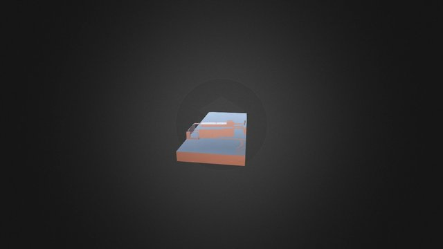 VIVIENDA BIOCLIMATICA M – M 3D Model