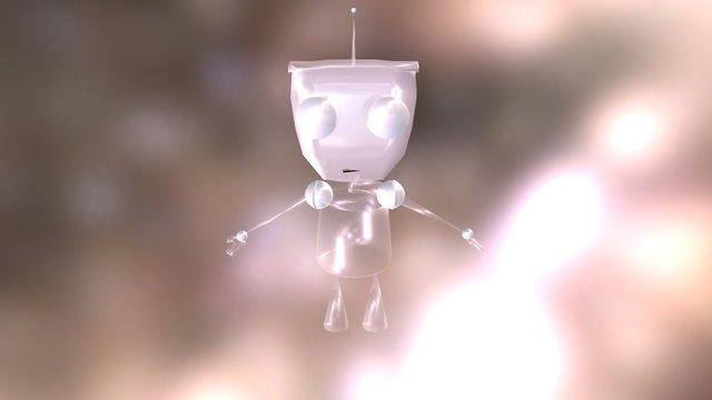 Robot Pet 3D Model