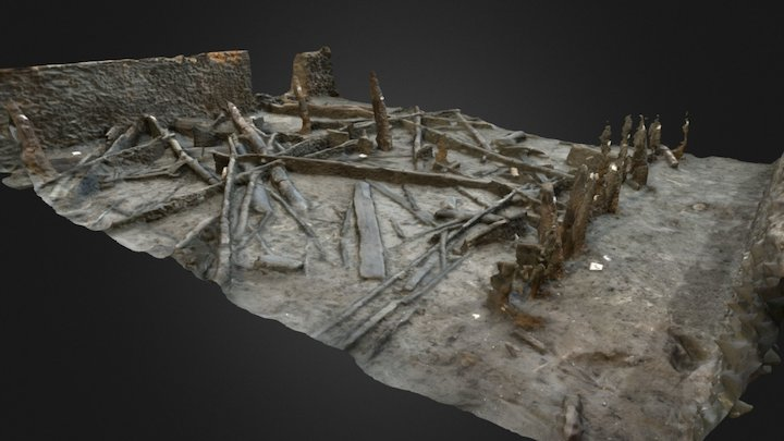 MustFarm_[3207] Wood Mass4 1 3D Model