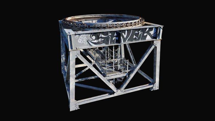 Crane Mast 3D Model