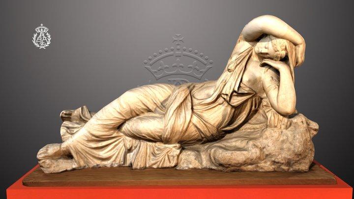 Ariadna dormida V-11 3D Model