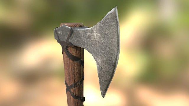 2DAE07 Melee Weapon Jordy Desmet 3D Model