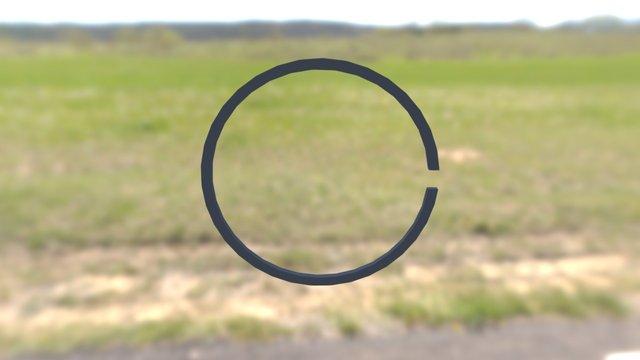 Компрессионное кольцо 3D Model
