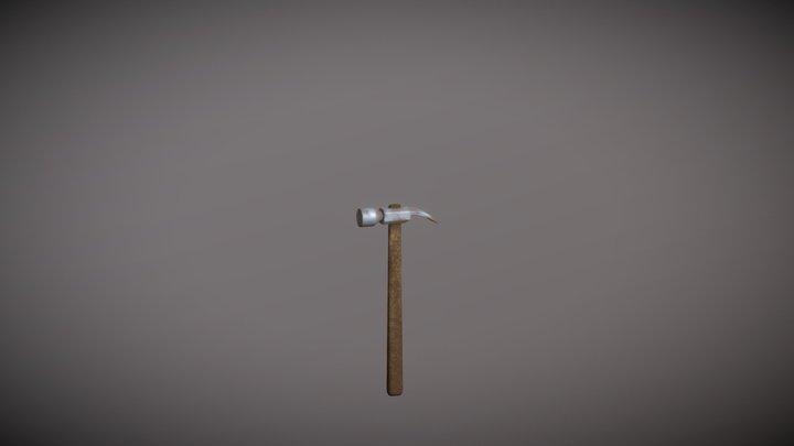 Old Hammer 3D Model
