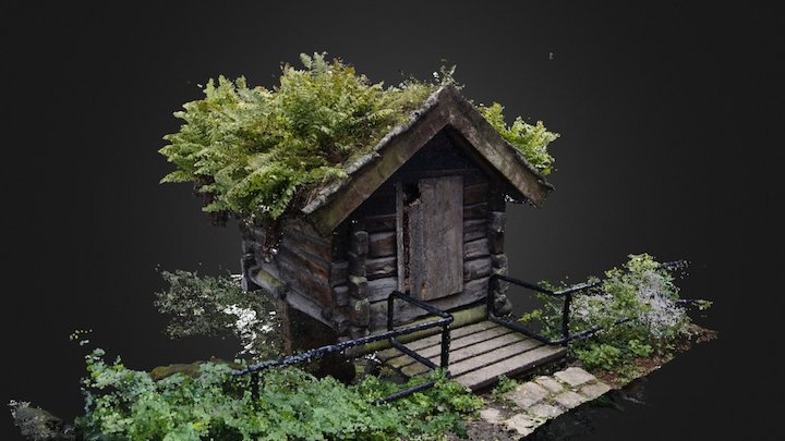Little cabin 3D Model