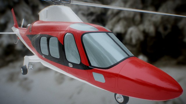 Babylo Augusta 109 Grand Red 3D Model