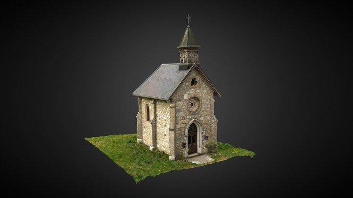 Chapelle des Vernettes - Quintal 3D Model
