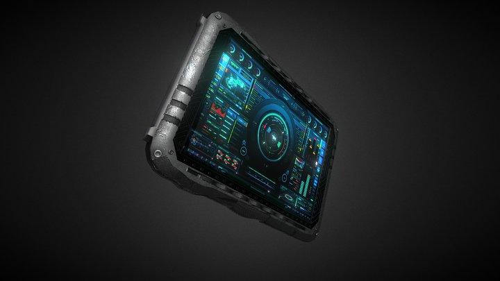 Scify PDA 3D Model