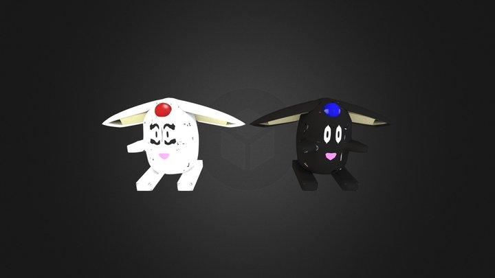 mokona 2 3D Model
