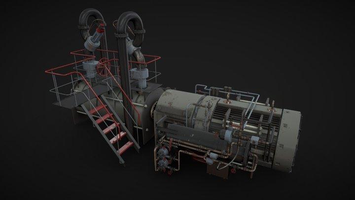 Industrial device 3D Model