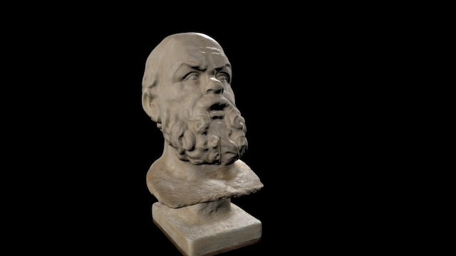 Sócrates 3D Model