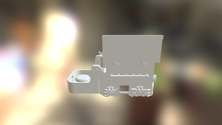 NIchiyu 2ton Battery Locomotive 3D Model