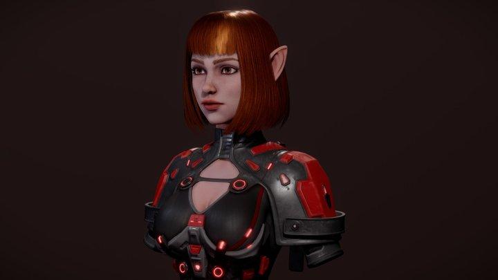 RED 3D Model