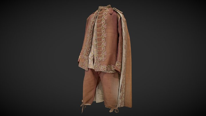 The National Costume 3D Model