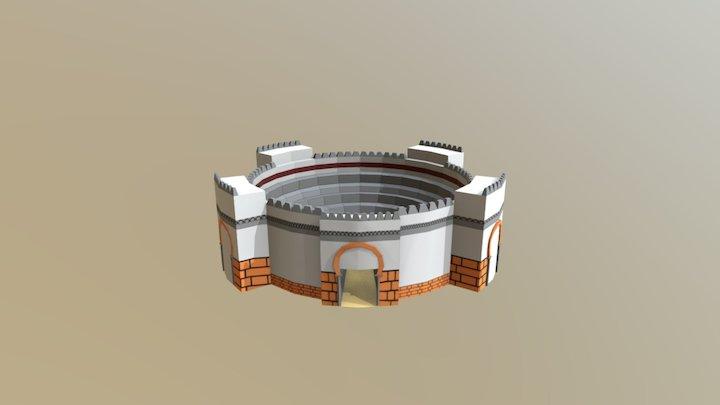 Plaza de Toros 3D Model