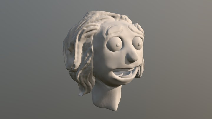 sculpjanuary19 - day 2 - mood: delight 3D Model