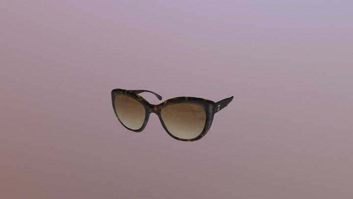 CHANEL Glasses 3D Model