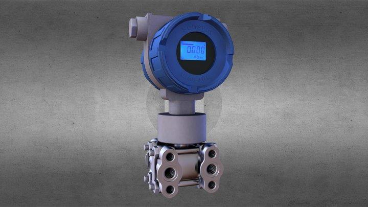 STP-EX-DIF 3D Model