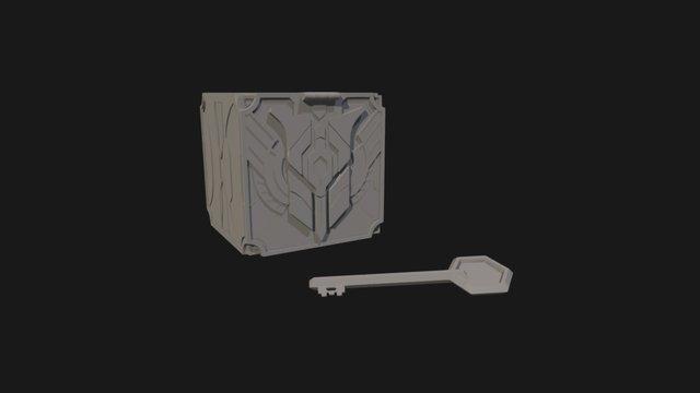 Hextech Chest 3D Model