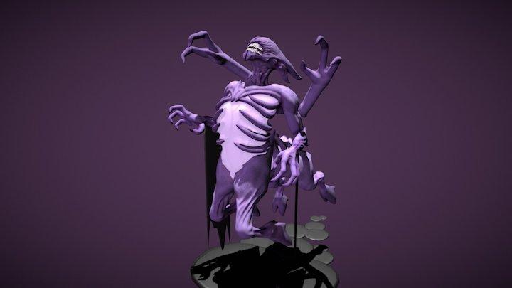 Bane Dota 2 Fan art 3D Model