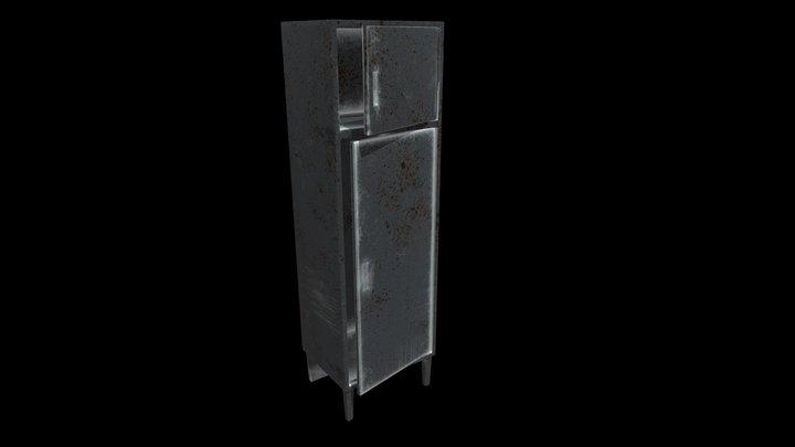 Super Simple Locker 3D Model