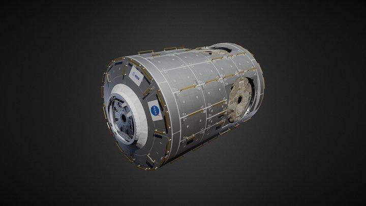 ISS 'Node' Module 3D Model
