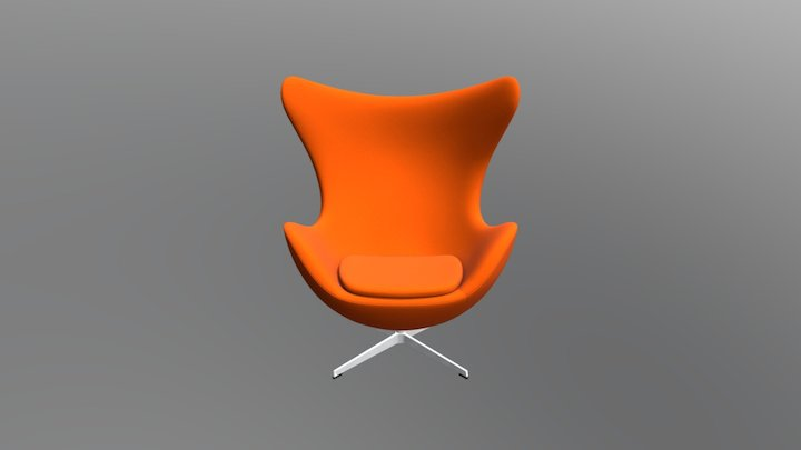 Egg Chair, sold by Design Within Reach 3D Model