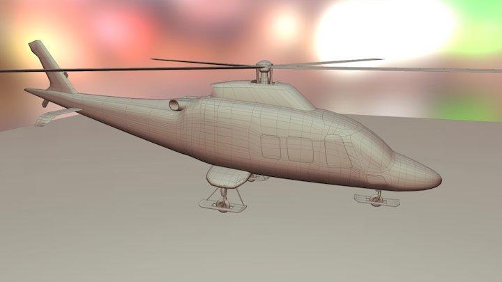 Helicopter V3 3D Model