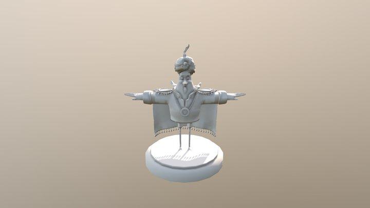 POPEYES MODEL 3D Model