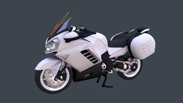 Kawasaki 1400 3D Model