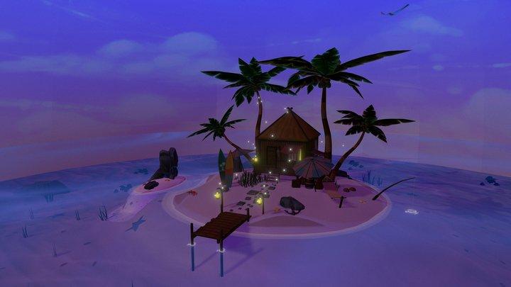 Ile / Island 3D Model