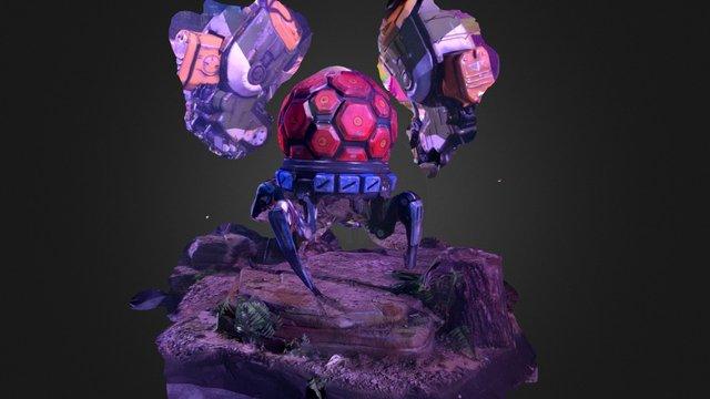#titanfall 2 crawler thing #E3 3D Model