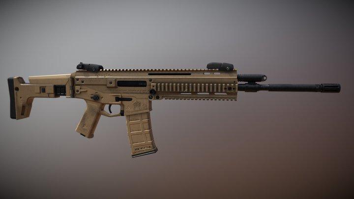 Bushmaster ACR 3D Model