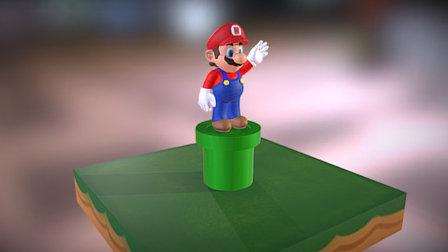 Super Mario Bros 3D  Harold Mora -CGWorks- 3D Model